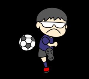 5人制サッカー パラリンピック 日本代表 フリー素材 男子