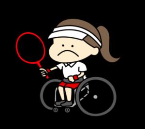 車椅子テニス パラリンピック 日本代表 フリー素材 女子