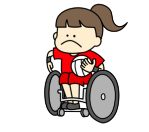 車椅子ラグビー パラリンピック 日本代表 フリー素材 女子