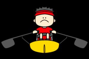 ボート パラリンピック 日本代表 フリー素材 男子