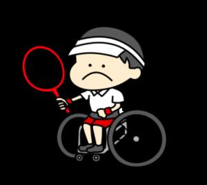 車椅子テニス パラリンピック 日本代表 フリー素材 男子