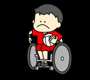 車椅子ラグビー パラリンピック 日本代表 フリー素材 男子