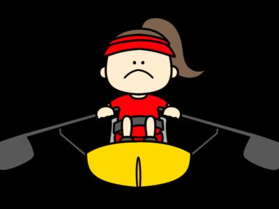 ボート パラリンピック 日本代表 フリー素材 女子