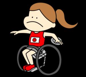 円盤投げ パラリンピック 日本代表 フリー素材 女子