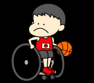 車椅子バスケットボール パラリンピック 日本代表 フリー素材 男子