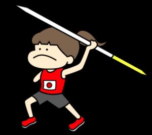 やり投げ パラリンピック 日本代表 フリー素材 女子