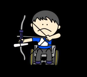 アーチェリー パラリンピック 日本代表 フリー素材 男子