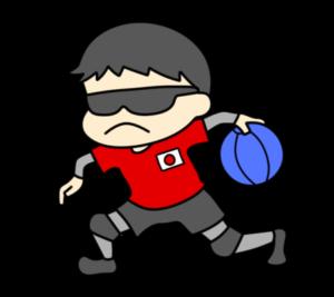 ゴールボール パラリンピック 日本代表 フリー素材 男子
